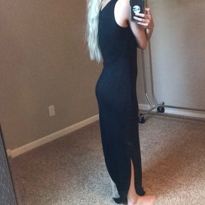 JustFab Dresses - Long Black maxi dress